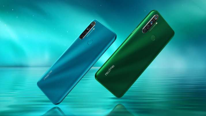 Image result for Realme 5i Launched in India with Four Cameras, 5,000mAh Battery at Rs 8,999