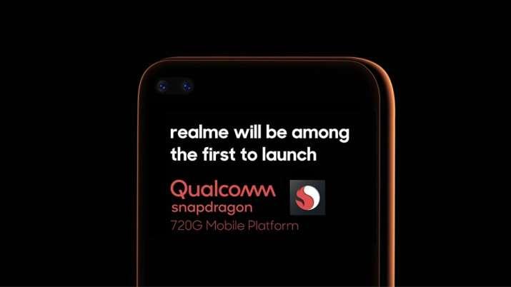 qualcomm, snapdragon processor, snapdragon 720G, realme, android, smartphones