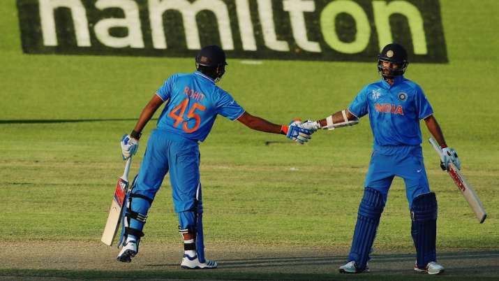 Rohit Sharma-Shikhar Dhawan duo eye historic record against 'favourite opponents' Australia
