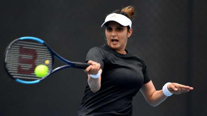Indian tennis star Sania Mirza