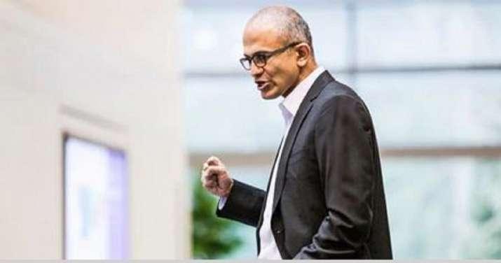 India Tv - Microsoft CEO Satya Nadella