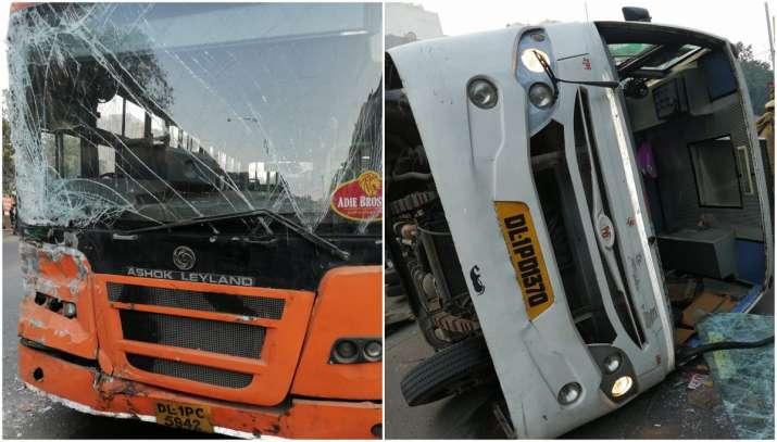Delhi bus accident