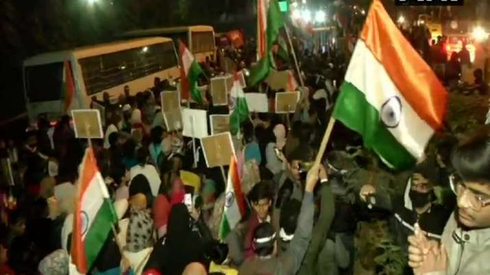 Shaheen Bagh Protest: People take out massive anti-CAA
