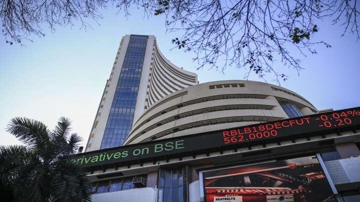 Sensex drops over 200 pts; Nifty tests 12,200