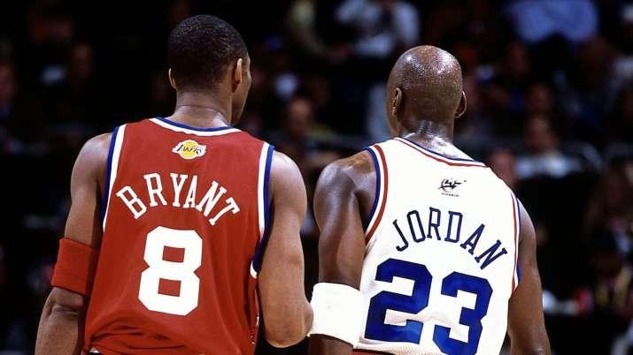 India Tv - Kobe Bryant and Michael Jordan