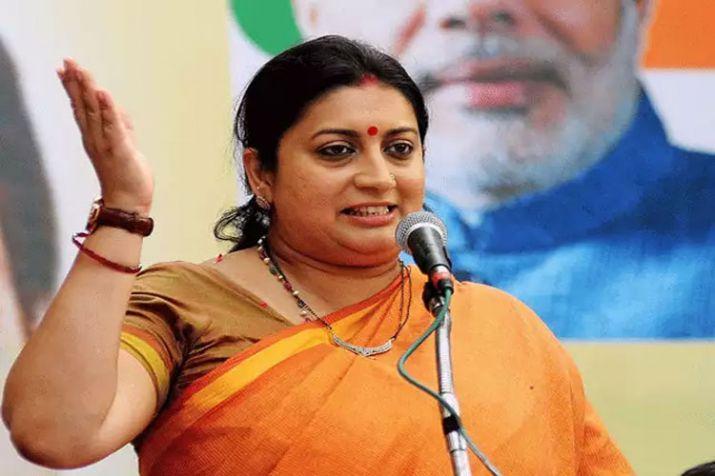 'Women capable of choosing their candidate': Smriti Irani hits back at Kejriwal