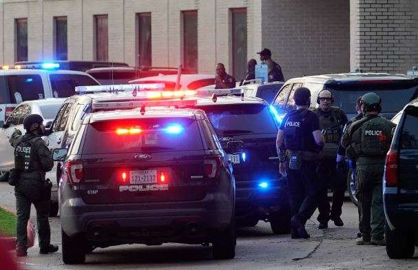 Student fatally shot at Texas high school; suspect at large