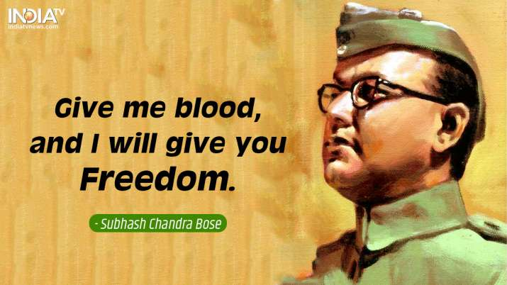 India Tv - Inspirational quotes by Netaji 6