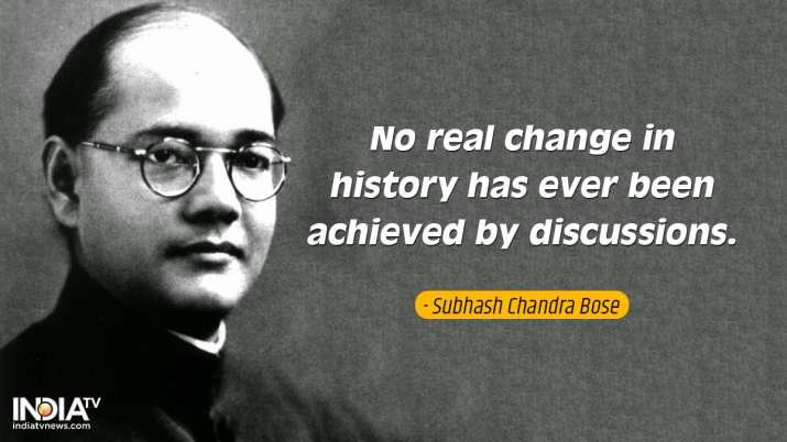 India Tv - Inspirational quotes by Netaji 3