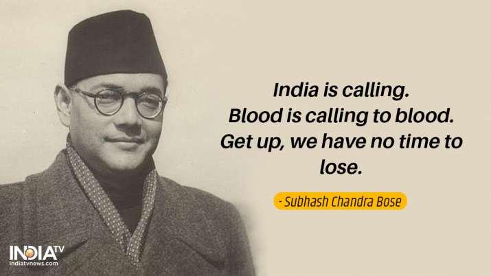 India Tv - Inspirational quotes by Netaji 2
