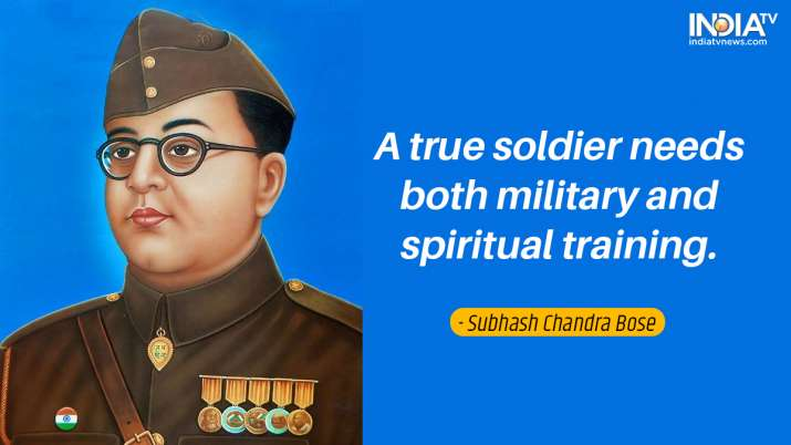 India Tv - Inspirational quotes by Netaji 1