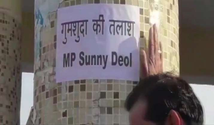 'Gumshuda Ki Talash': Missing posters of MP Sunny Deol