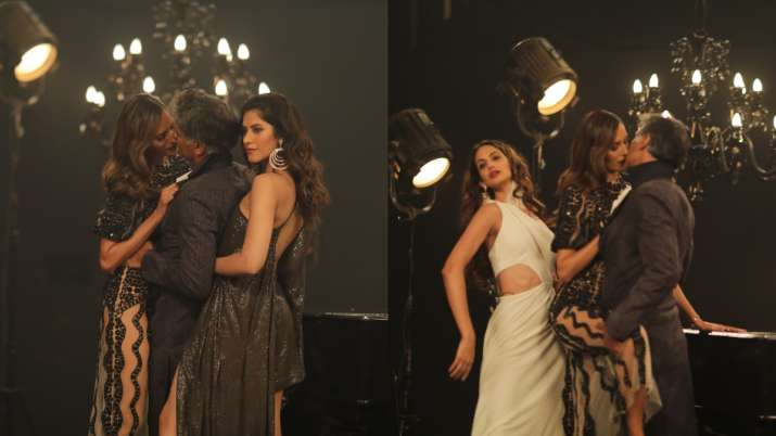 Supermodel of the Year: Milind Soman and Ujjwala Raut's photoshoot is every bit steamy