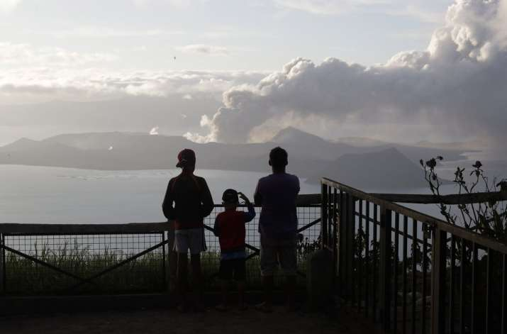 Philippine Taal volcano trembles more, spews lava half-mile high