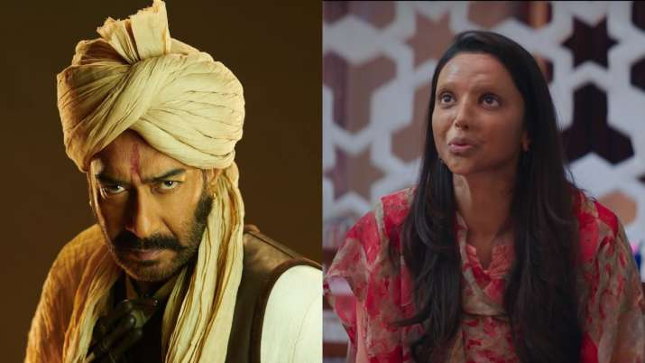 Ajay Devgn's Tanhaji clean bowls Deepika Padukone's Chhapaak at the box office