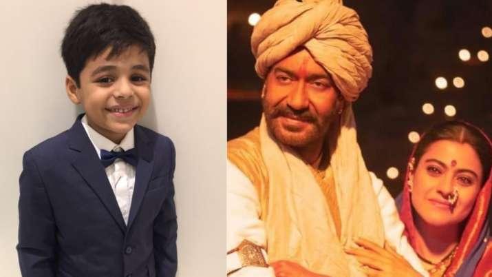 Tanhaji The Unsung Warrior child actor Arush Nand calls Ajay Devgn 'quiet,' Kajol 'chatty'