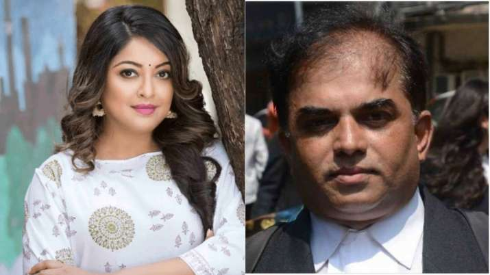 Actor Tanushree Dutta's lawyer booked in molestation case