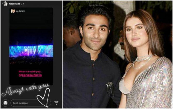 India Tv - Did Tara Sutaria and Aadar Jain just make their relationship Insta official?