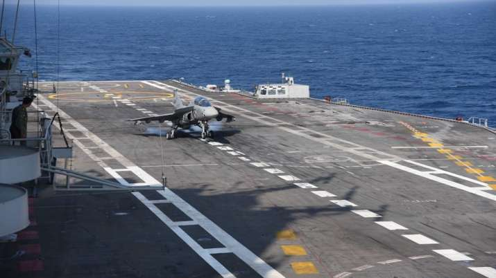 Naval version of Tejas lands on aircraft carrier in major milestone