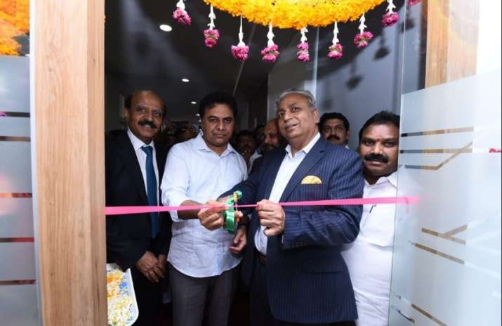 India Tv - K. T. Rama Rao, senior TRS leader and a minister in KCR government inaugurates Tech Mahindra campus