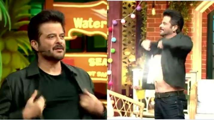 Anil Kapoor takes a dig at his chest hair in The Kapil Sharma Show. Watch video