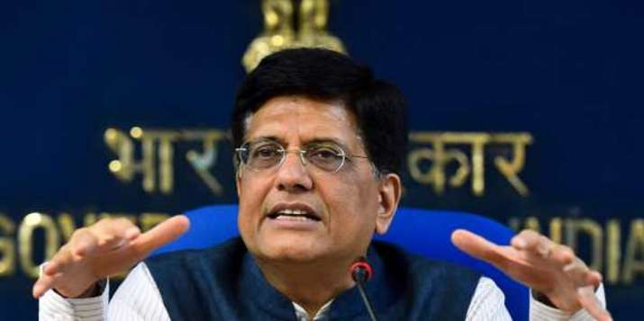 A file photo of Union Commerce Minister Piyush Goyal for