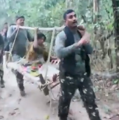 Heroes of India: Video shows CRPF men carrying pregnant