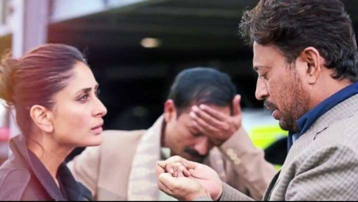 India Tv - New still of Kareena Kapoor, Irrfan Khan from Angrezi Medium will leave you excited
