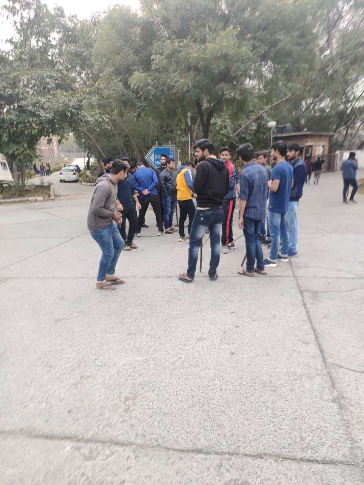 India Tv - Photos: Unmasked faces of mob that ran riot in JNU