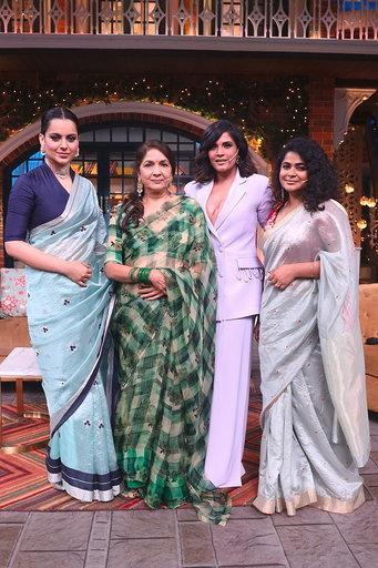 India Tv - The Kapil Sharma Show: Panga actress Kangana Ranaut reveals she was brave enough to click selfies wi