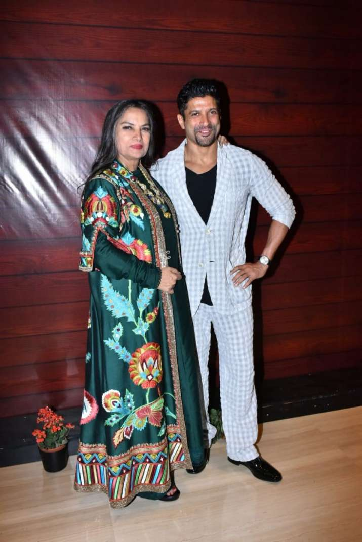 India Tv - Farhan Akhtar, Shabana Azmi