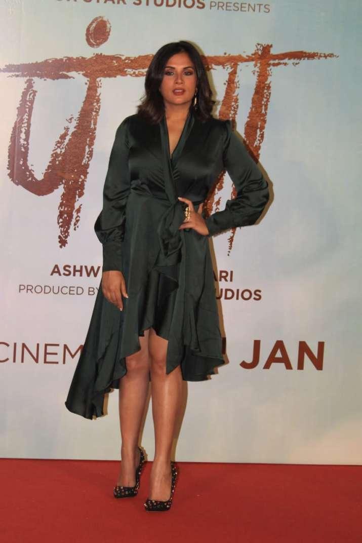 India Tv - Richa Chadha at Panga promotional event