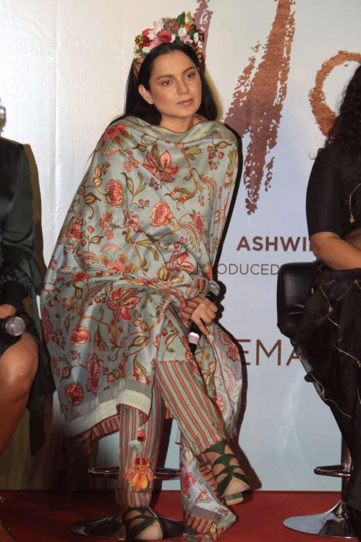 India Tv - Kangana Ranaut at Panga promotional event