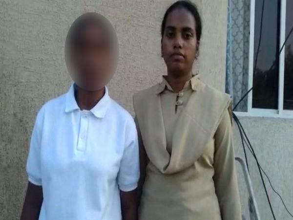 Andhra woman constable, woman constable, woman constable filmed,