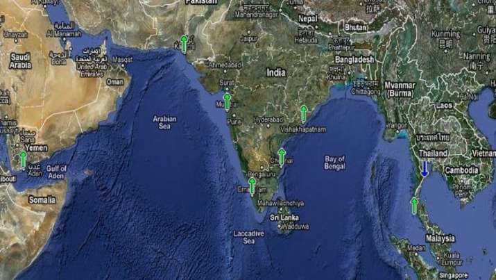 India among countries facing threat of rising sea level: