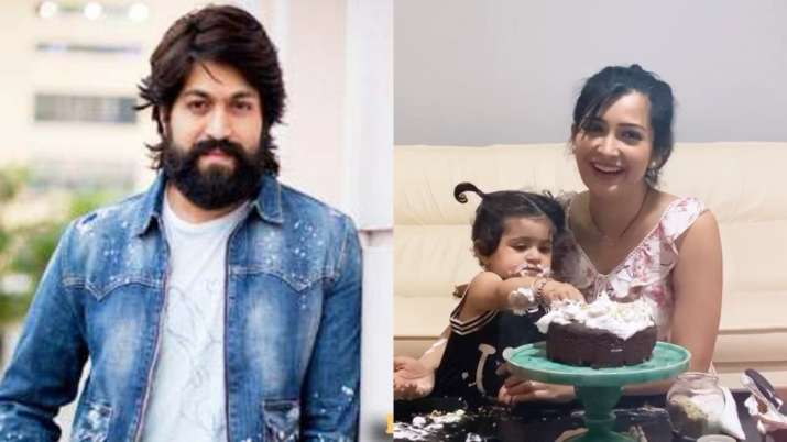 Yash gets surprise birthday cake from wife Radhika Pandit and daughter Ayra