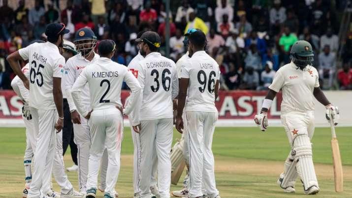 Steady Zimbabwe reach 189/2 against Sri Lanka after Day 1