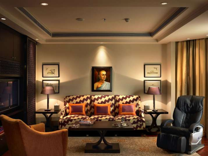 India Tv - Chanakya suite ITC Maurya