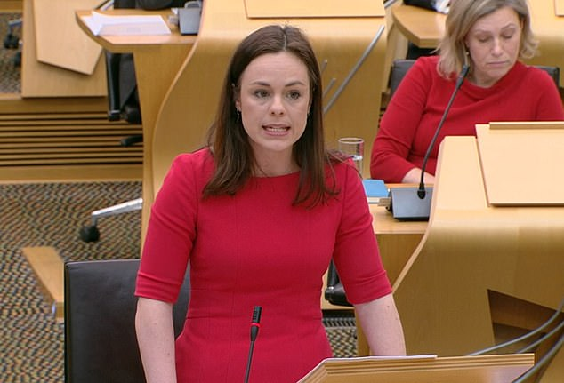 Meet Kate Forbes, 29-yr-old Scotland minister who presented pound 34 £ bn budget