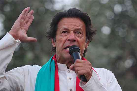 Pak PM Imran's party suspends leader for posters insulting Hindus