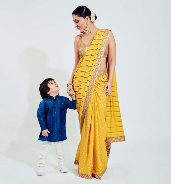 India Tv - Kareena Kapoor and son Taimur