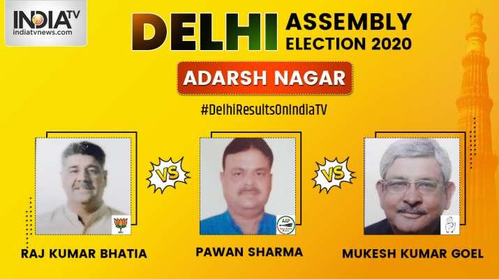 Delhi Assembly Elections: Adarsh Nagar Constituency   Live