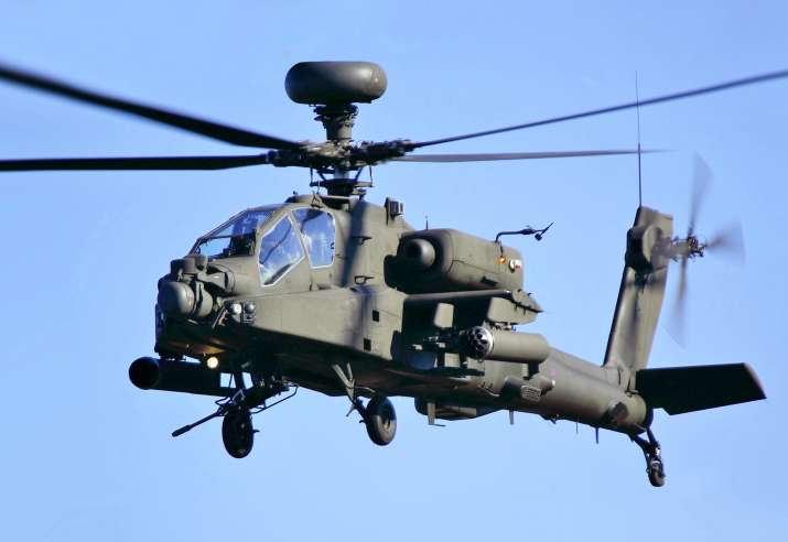 India Tv - Boeing AH-64E Apache helicopter