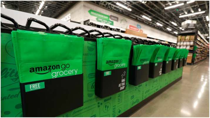Amazon Go Grocery cashier-less store