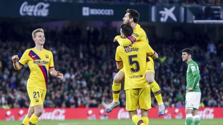 The title race for La Liga continues as Barcelona and Real Madrid registered wins in their respectiv