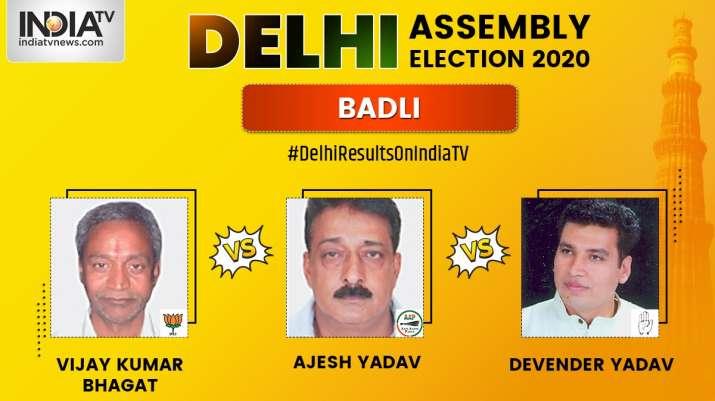 Badli Constituency, Delhi Assembly Elections 2020