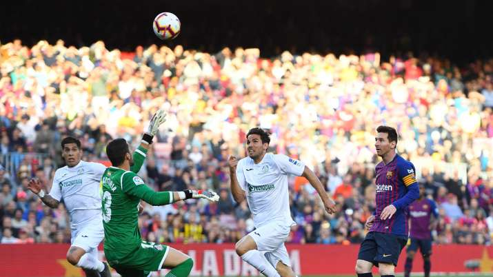 Clash of styles: Hard-hitting Getafe face Messi's Barcelona