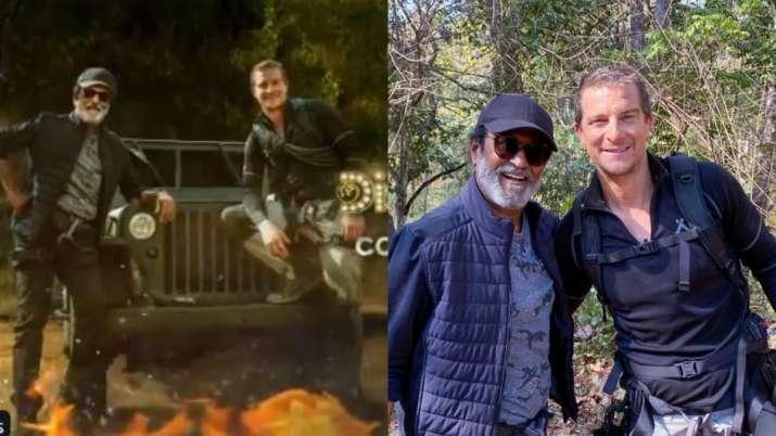 Bear Grylls shares superstar Rajinikanth's TV debut first look