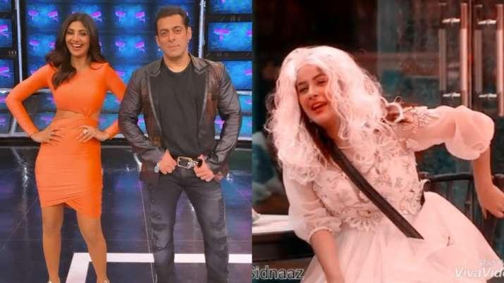 Salman Khan's fun moments with Shehnaaz, Sidharth and Rashami