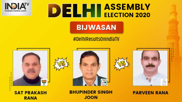 Delhi Assembly Election 2020: Bijwasan Constituency Result LIVE